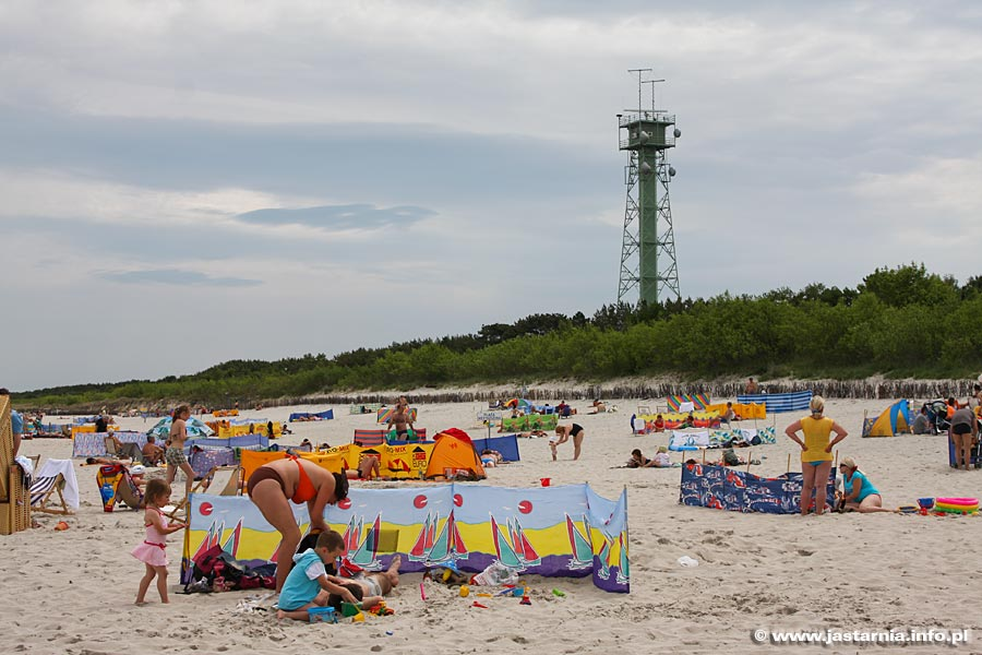 Jastarnia nadmorska plaża